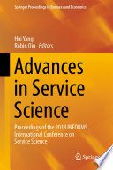 Advances in Service Science
