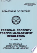 Personal property traffic management regulation
