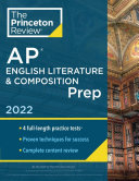 Princeton Review AP English Literature and Composition Prep 2022 Book
