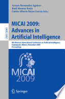 MICAI 2009  Advances in Artificial Intelligence