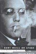 Kurt Weill on Stage Book PDF