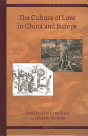 The Culture of Love in China and Europe
