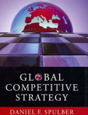 Cover of Global Competitive Strategy
