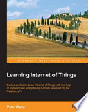Learning Internet Of Things Book PDF