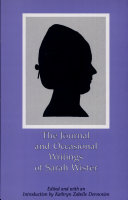 Pdf The Journal and Occasional Writings of Sarah Wister
