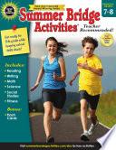Summer Bridge Activities Grades 7 8