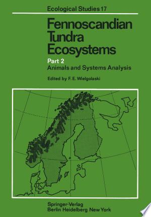 Free Download Fennoscandian Tundra Ecosystems PDF - Writers Club