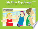 My First Pop Songs  Book 1