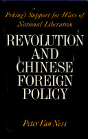 Revolution and Chinese Foreign Policy