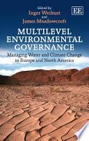 Multilevel Environmental Governance Book