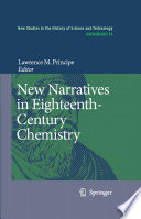 New Narratives in Eighteenth-Century Chemistry