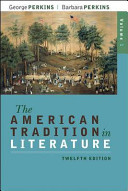 The American Tradition in Literature  Volume 1 book alone
