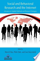 Social and Behavioral Research and the Internet  : Advances in Applied Methods and Research Strategies