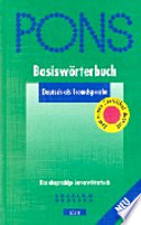 Pons Basiswörterbuch Deutsch als Fremdsprache