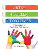 Artsy Toddler Storytimes Book PDF