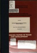 Macroeconomic Ad J Ustment To External Shocks Book PDF