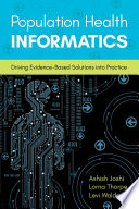 Population Health Informatics