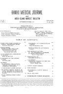 Hawaii Medical Journal and Inter-island Nurses' Bulletin
