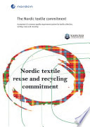 The Nordic Textile Commitment Book PDF