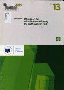 EU Support for Rehabilitation Following the Earthquake in Haiti