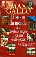 Pdf Histoire du monde, de la Révolution française à nos jours en 212 épisodes Telecharger