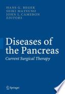 Diseases of the Pancreas Book
