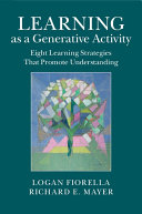 Learning as a Generative Activity