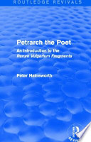 Petrarch the Poet (Routledge Revivals)