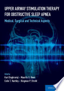 Upper Airway Stimulation Therapy for Obstructive Sleep Apnea Book