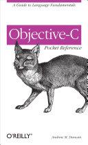 Objective C Pocket Reference