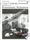 Handbook Of Forensic Science Book PDF