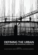 Defining the Urban