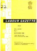 Labour Gazette