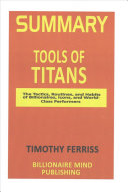 Summary: Tools of Titans