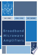 Broadband Microwave Amplifiers Book PDF