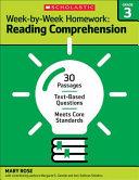 Week By Week Homework  Reading Comprehension Grade 3