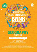 ICSE Most Likely Question Bank Geography Class 9  2022 Exam    Categorywise   Chapterwise Topics  Indepth Concepts  Quick Revision