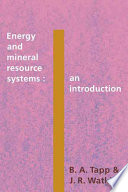 Energy and Mineral Resource Systems