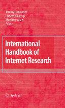 International Handbook of Internet Research Pdf/ePub eBook