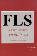 Pdf Discontinuity and Fragmentation Telecharger