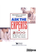 Ask The Experts 2500 Great Hints Smart Tips From The Pros Book