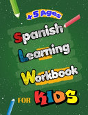 Spanish Learning Workbook for Kids