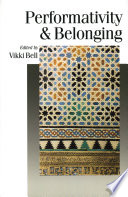 Performativity   Belonging Book