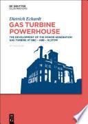 Gas Turbine Powerhouse Book PDF