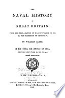 The Naval History of Great Britain  from the Declaration of War by France in 1793  to the Accession of George IV Book PDF