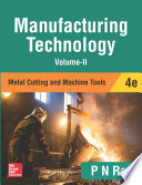 Manufacturing Technology Metal Cutting And Machine Tools 4e Volume Ii  Book PDF