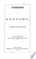 Questions on Anatomy  for the Use of Students