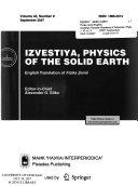 Izvestiya Russian Academy Of Sciences Book PDF