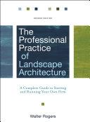 The Professional Practice of Landscape Architecture [Pdf/ePub] eBook
