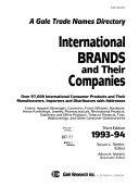 International Brands and Their Companies